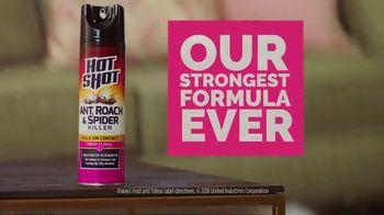Hot Shot Ant, Roach & Spider Killer TV Spot, 'Life Not Long Enough' - Thumbnail 8