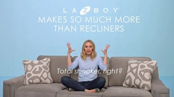 La-Z-Boy Memorial Day Sale TV Spot, 'Total Shocker' Featuring Kristen Bell - Thumbnail 4