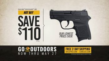 Bass Pro Shops Go Outdoors Event and Sale TV Spot, 'S&W Pistol & American Eagle Rifle Ammo' - Thumbnail 5