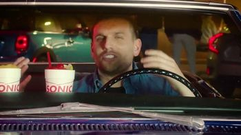Sonic Drive-In Red Bull Slushes TV Spot, 'Stupid Questions With Mekki Leeper' Featuring Chris Distefano - Thumbnail 1