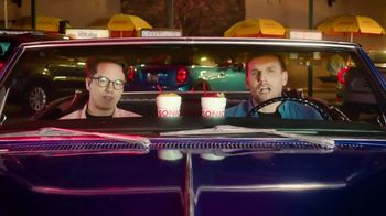 Sonic Drive-In Red Bull Slushes TV Spot, 'Stupid Questions With Mekki Leeper' Featuring Chris Distefano - 9 commercial airings