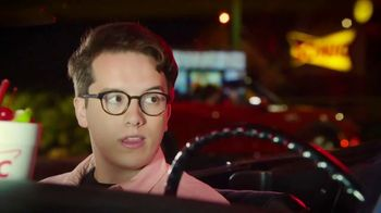 Sonic Drive-In Red Bull Slushes TV Spot, 'Stupid Questions With Mekki Leeper' Featuring Chris Distefano - Thumbnail 6