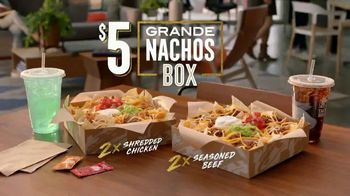 Taco Bell Grande Nachos Box TV Spot, 'Share With Yourself' - Thumbnail 9