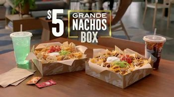 Taco Bell Grande Nachos Box TV Spot, 'Share With Yourself' - Thumbnail 8