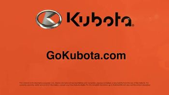 Kubota Z Series TV Spot, 'Look Good' - Thumbnail 7