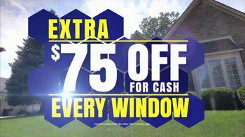 Wallside Windows Spring Sale TV Spot, 'Buy One Get One Free Plus $75 Off'
