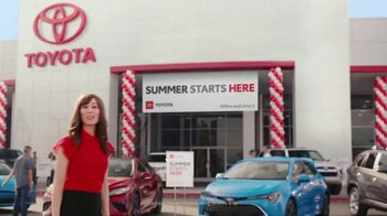 Toyota Summer Starts Here TV Spot, 'Fun Treats' [T2] - Thumbnail 1