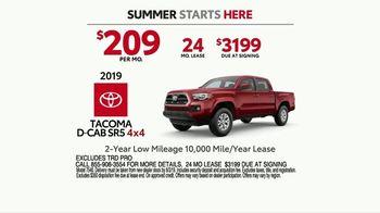 Toyota Summer Starts Here TV Spot, 'Fun Treats' [T2] - Thumbnail 7