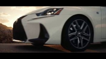 2019 Lexus IS 300 TV Spot, 'Legacy in the Making' [T2] - Thumbnail 8