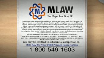 Meyer Law Firm TV Spot, 'Hernia Mesh Surgical Repair Alert' - Thumbnail 4