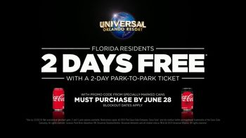 Universal Orlando Resort TV Spot, 'Coca-Cola: Two Days Free' - Thumbnail 9