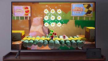 Nintendo Switch TV Spot, 'Yoshi's Crafted World: Retailer Gift Card' - Thumbnail 4