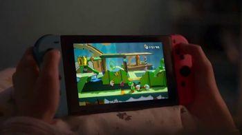 Nintendo Switch TV Spot, 'Yoshi's Crafted World: Retailer Gift Card' - Thumbnail 5