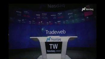 NASDAQ TV Spot, 'Tradeweb' - Thumbnail 1