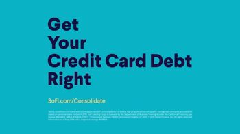 SoFi Personal Loan TV Spot, 'Get Your Credit Card Debt Right with SoFi' - Thumbnail 9