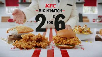 KFC Mix 'N' Match TV Spot, 'Tasty Pairs'