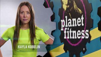 Planet Fitness TV Spot, 'CBS: Million Dollar Extra Mile: Kayla'