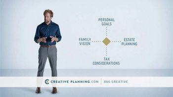Creative Planning TV Spot, 'Experience you Deserve'