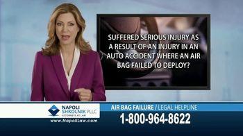 Napoli Shkolnik PLLC TV Spot, 'Air Bag Failure' - Thumbnail 2
