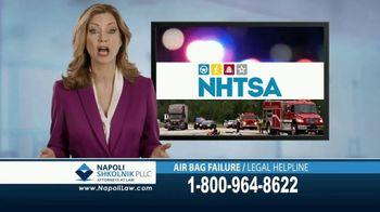 Napoli Shkolnik PLLC TV Spot, 'Air Bag Failure' - Thumbnail 3