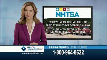Napoli Shkolnik PLLC TV Spot, 'Air Bag Failure' - Thumbnail 4