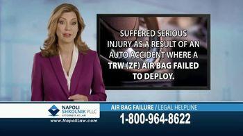 Napoli Shkolnik PLLC TV Spot, 'Air Bag Failure' - Thumbnail 8