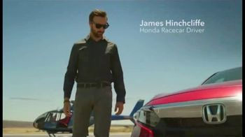 2019 Honda Accord TV Spot, 'Driver's Seat' Featuring James Hinchcliffe [T2] - 371 commercial airings