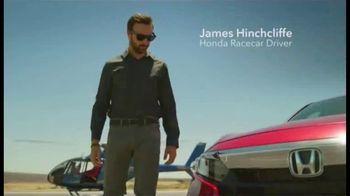 2019 Honda Accord TV Spot, 'Driver's Seat' Featuring James Hinchcliffe [T2] - Thumbnail 2