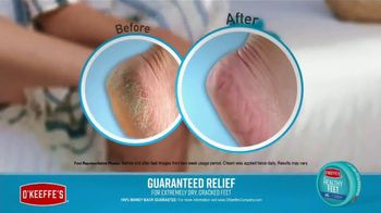 O'Keeffe's For Healthy Feet TV Spot, 'Relaxing Pedicure' - Thumbnail 8