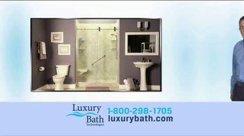 Luxury Bath Technologies TV Spot, 'The Bathroom of Your Dreams' - Thumbnail 1