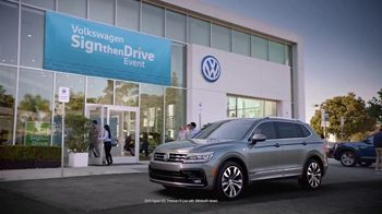 Volkswagen Sign Then Drive Event TV Spot, \'Stichomythia\' [T2]