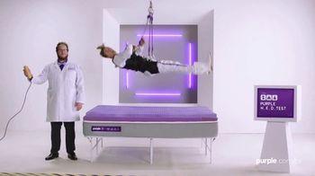 Purple Mattress TV Spot, '2019 Memorial Day: Human Egg Drop Test' - 45 commercial airings