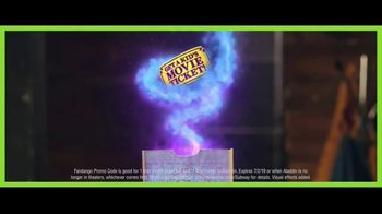 Subway Fresh Fit for Kids TV Spot, 'Aladdin: Movie Ticket' - 172 commercial airings