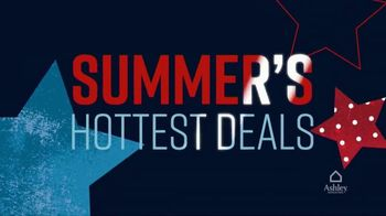 Ashley HomeStore Memorial Day Sale TV Spot, 'Summer's Hottest Deals: Queen Storage Bed' Song by Midnight Riot - Thumbnail 4