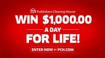 Publishers Clearing House TV Spot, 'Win $1,000 a Day for Life: Here's What's Up' Feat. Steve Harvey - Thumbnail 5