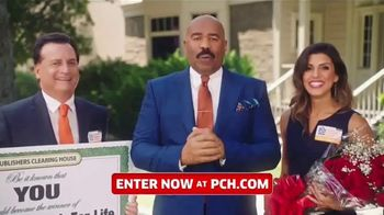 Publishers Clearing House TV Spot, 'Win $1,000 a Day for Life: Here's What's Up' Feat. Steve Harvey