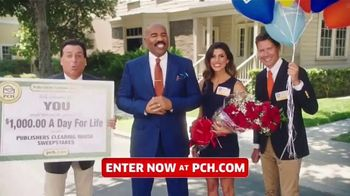Publishers Clearing House TV Spot, 'Win $1,000 a Day for Life: Here's What's Up' Feat. Steve Harvey - Thumbnail 2