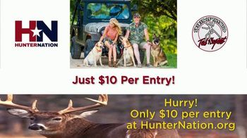 Hunter Nation TV Spot, 'Win a Hunt with Ted Nugent' - 6 commercial airings