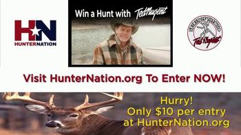 Hunter Nation TV Spot, 'Win a Hunt with Ted Nugent' - Thumbnail 7