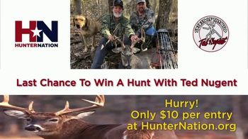 Hunter Nation TV Spot, 'Win a Hunt with Ted Nugent' - Thumbnail 2