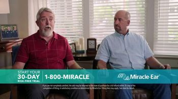 Miracle-Ear Anniversary Sale TV Spot, 'Listen & Learn: Ben & Bobby'