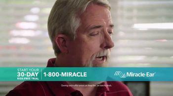 Miracle-Ear Anniversary Sale TV Spot, 'Listen & Learn: Ben & Bobby' - Thumbnail 3