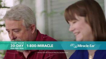 Miracle-Ear Anniversary Sale TV Spot, 'Listen & Learn: Ben & Bobby' - Thumbnail 4