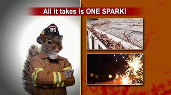 Beldon LeafGuard TV Spot, 'One Spark: 75 Percent Off Labor' - Thumbnail 1