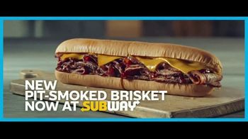 Subway Pit-Smoked Brisket TV Spot, 'Inspired by the Masters'