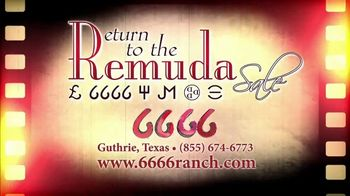 6666 Ranch Return to the Remuda Sale TV Spot, 'Cowboy Tradition' - Thumbnail 7