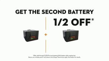 STIHL TV Spot, 'Real STIHL: Battery Power' Song by Sacha James Collisson - Thumbnail 8
