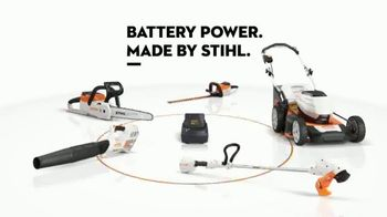 STIHL TV Spot, 'Real STIHL: Battery Power' Song by Sacha James Collisson - Thumbnail 9