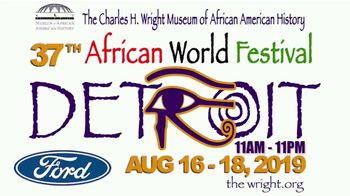 Charles H. Wright Museum of African American History TV Spot, '37th African World Festival' Song by Freddie Jackson - Thumbnail 1