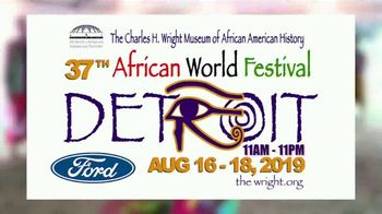 Charles H. Wright Museum of African American History TV Spot, '37th African World Festival' Song by Freddie Jackson